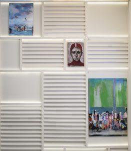 Obra de Alfredo Palmero-Ediciones Limitadas en el espacio de ABB Niessen en Casa Decor 2019
