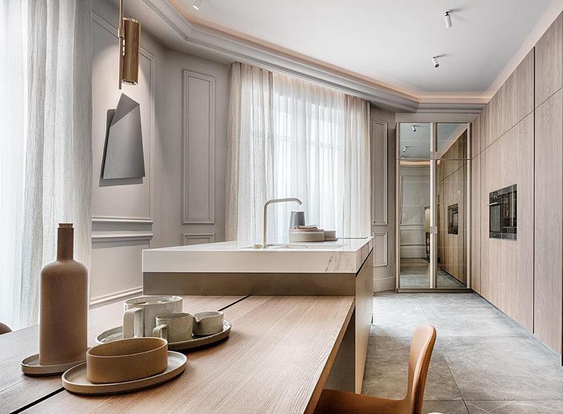 Tendencias Muebles Salon 2019.Tendencias Top En Las Seis Cocinas Presentadas En Casa Decor