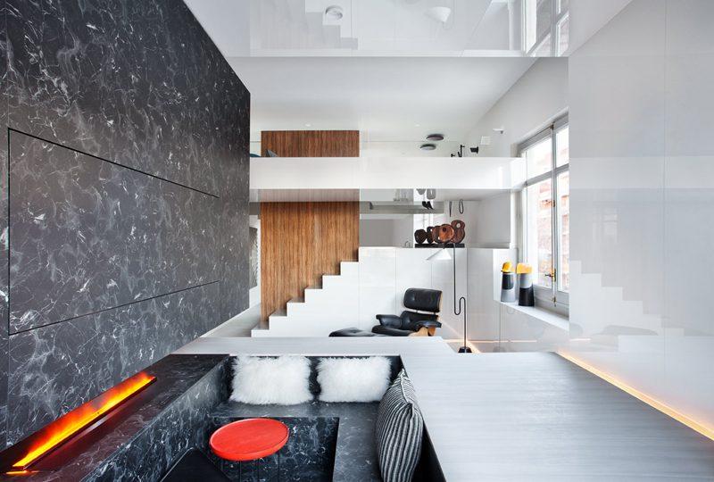 """Loft """"Alvic Smart Home"""", un espacio tridimensional de 28 metros cuadrados"""