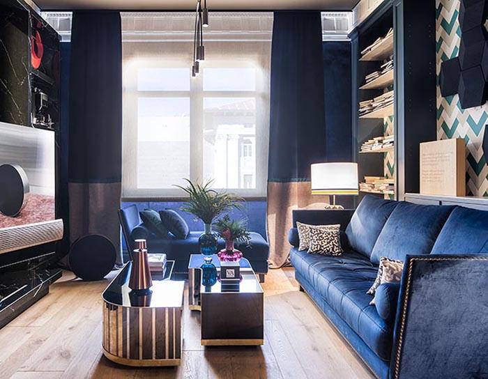 Tendencias Muebles Salon 2019.Terciopelo Tejido Tendencia En La Decoracion De Interiores