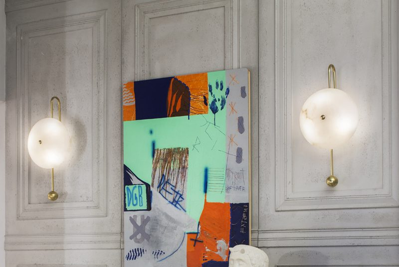 Apliques de luz para las paredes en Casa Decor 2019