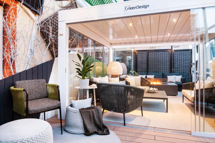 Terraza En Tres Ambientes Diseñada Por Greendesing En Casa