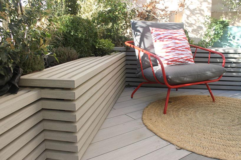 Terraza con mobiliario exterior de Musola