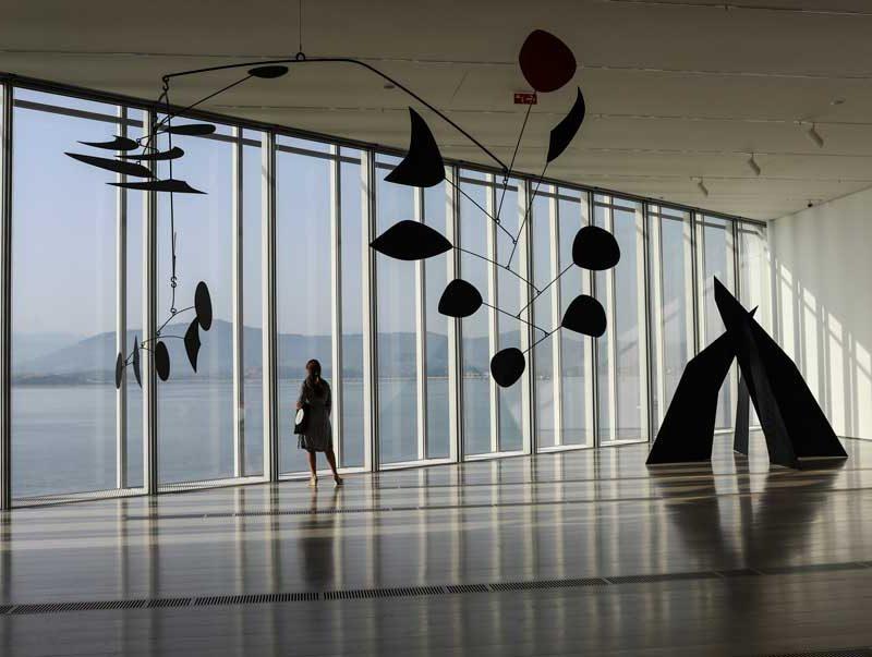 La obra menos conocida de Calder en el Centro Botín de Santander