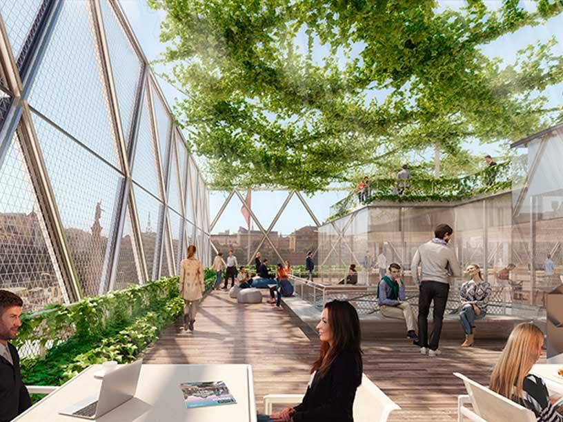 Así Será Axis El Nuevo Edificio Diseñado Por Norman Foster