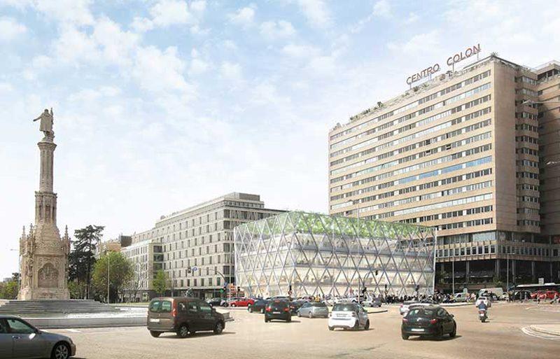 Así será Axis, el nuevo edificio diseñado por Norman Foster en Madrid
