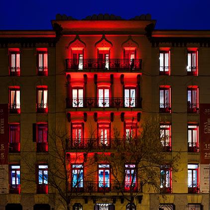 Fachada – Espacio Tao Iluminación, Ane López Botella