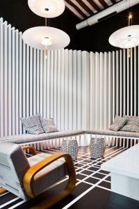 Sala de TV – Samsung SUHD TV por Diego Rodríguez en Casa Decor 2016