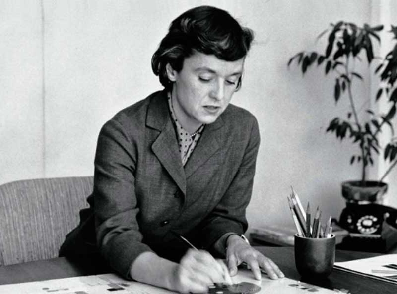 Florence Knoll, arquitecta y diseñadora de interiores
