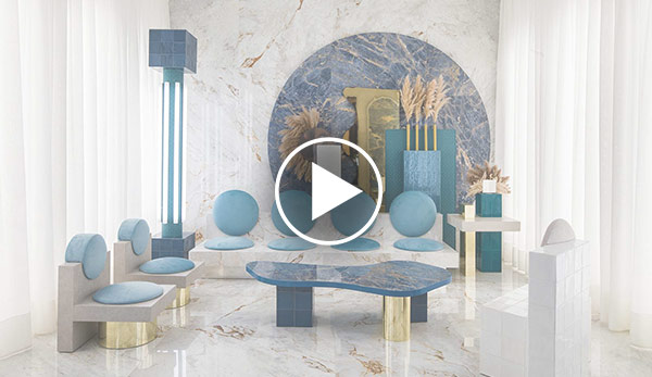 Video de Espacio conceptual – «A look to the future from the past» – Espacio Roca Tile