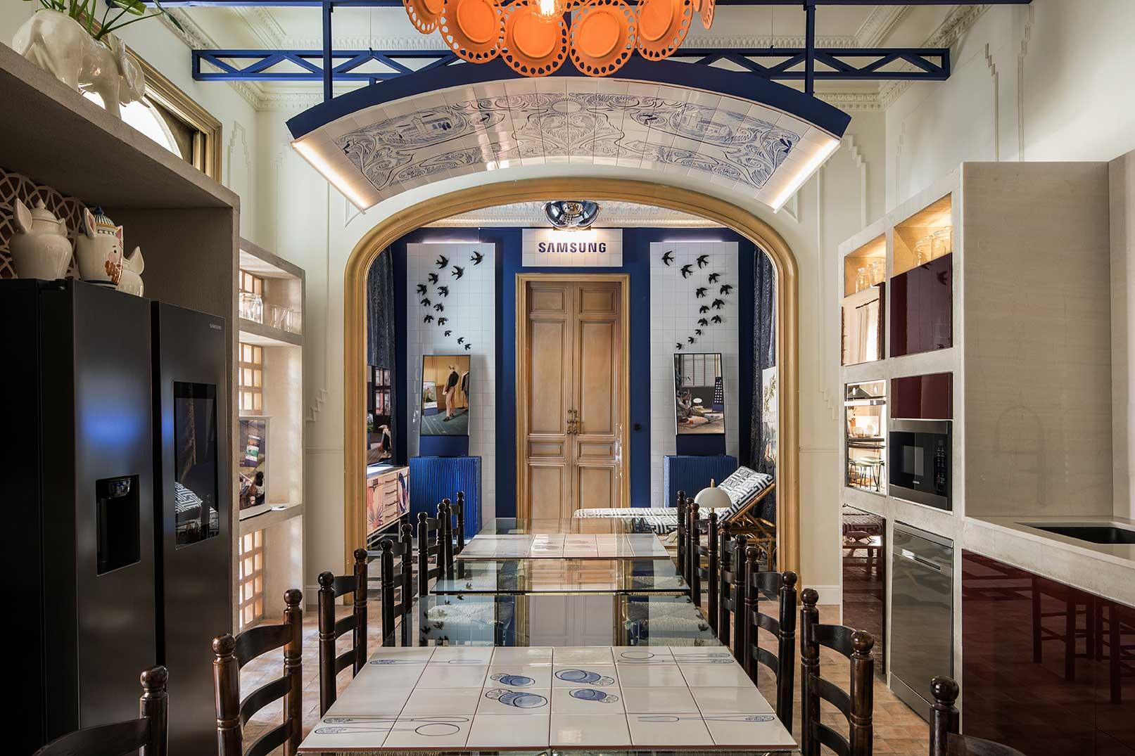 Salón-Cocina – Espacio Samsung
