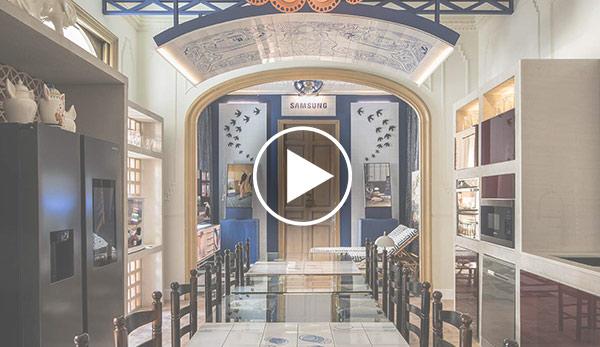 Video de Salón-Cocina – Espacio Samsung