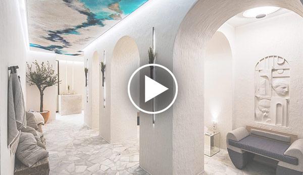 Video de Aseos de uso público – «Mediterranean Vibes» Espacio Javiescobar Interiorismo