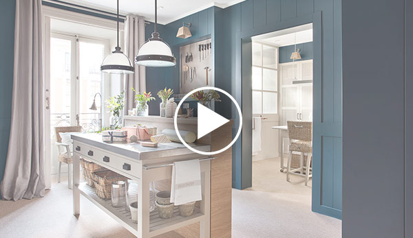 Video de Cuarto de lavado y plancha – «Utility room»  Espacio Deulonder
