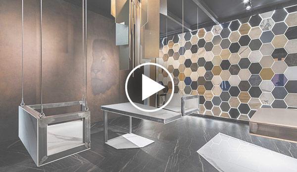 Video de Galería de arte – «Digital Art Gallery» – Espacio Laminam
