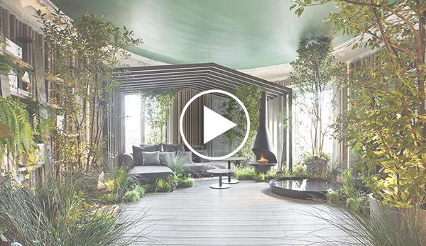 Video de Jardín de invierno –  «Biblioteca en el bosque»