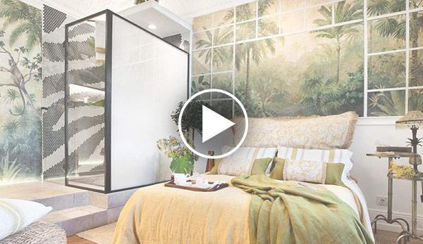 Video de Dormitorio con baño – «Lunas de Bioko» – Espacio Miapetra