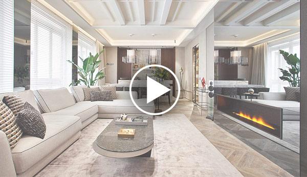 Video de Salón-comedor-cocina – «Less is more» – Espacio Hager Sistemas