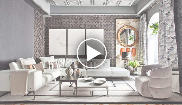 Video de Zona de estar «Dandy Lounge» – Espacio Natuzzi Italia