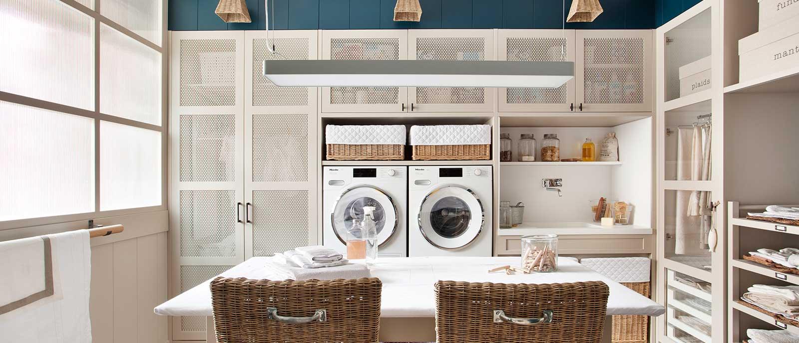 Cuarto de lavado y plancha – «Utility room»  Espacio Deulonder
