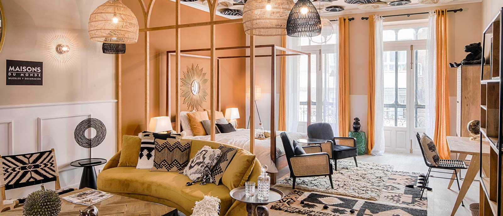 Hotel & Suite – «Un viaje con esencia natural» – Espacio Maisons du Monde