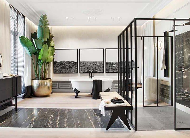 Los baños de Casa Decor 2020: diseño, confort y sostenibilidad