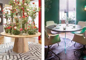 Mesas de madera de Decoberola