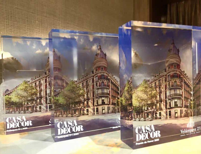 Entrega de los VIII Premios de Interiorismo y Diseño Casa Decor 2020