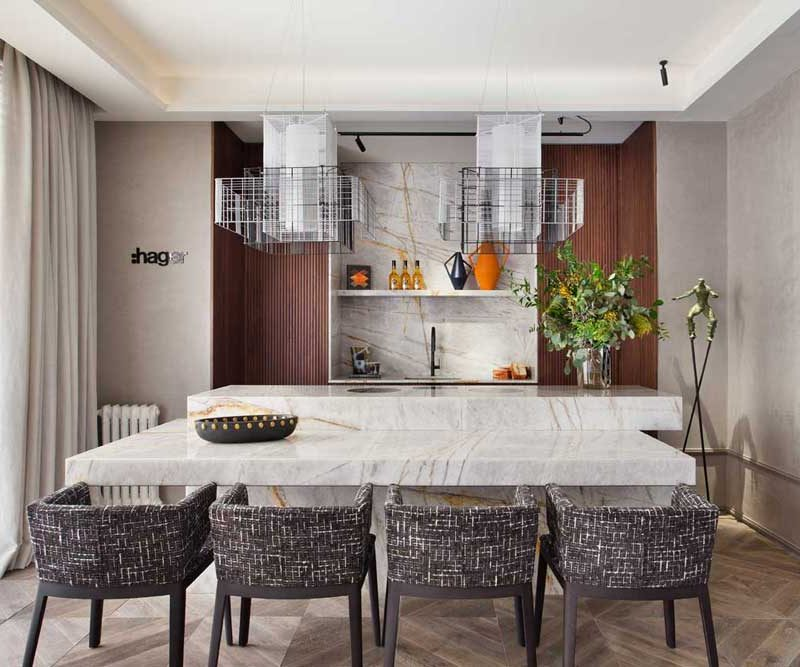 Encimeras de la máxima funcionalidad y belleza para interiores actuales