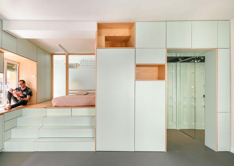 Yojigen Poketto, reforma de un apartamento en Madrid por elii [oficina de arquitectura]