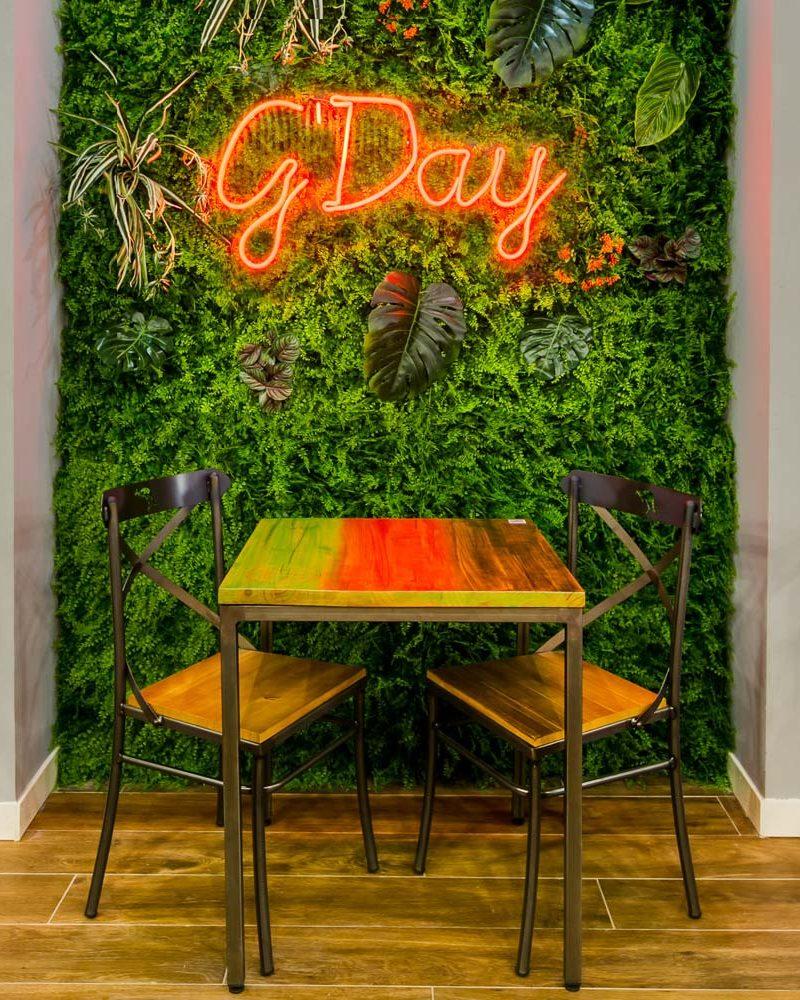 Cristina Amigo pone el broche de oro al interiorismo de un exótico restaurante
