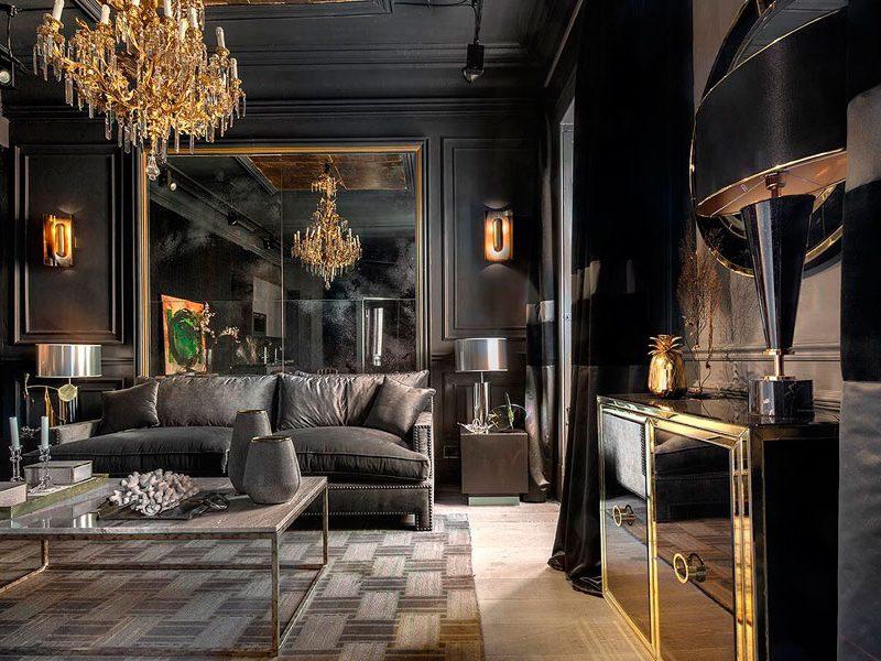 Tendencia «Dramatic Interiors»: espacios con un efecto teatral y dramático único