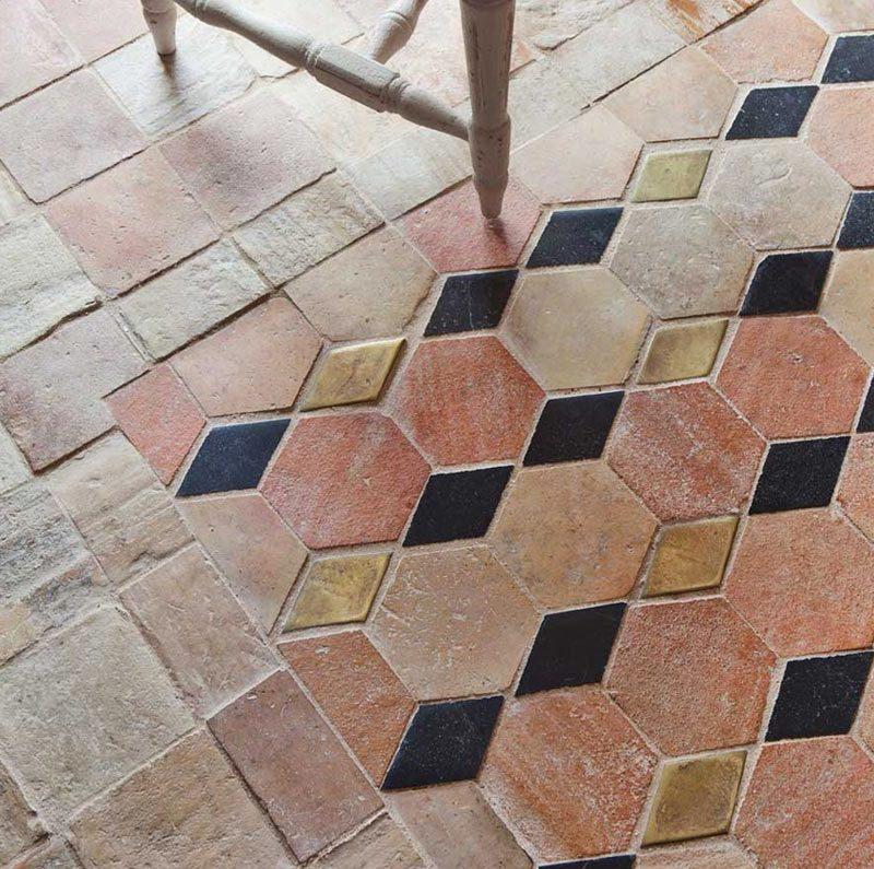 Tendencias en suelos: dibujos geométricos