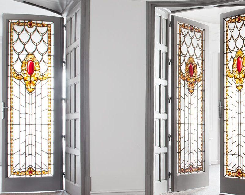 Las vidrieras de la Casa de Tomás Allende