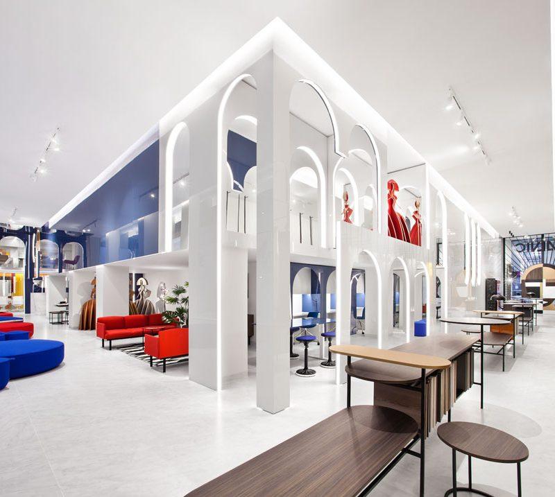 Héctor Ruiz-Velázquez crea el nuevo showroom de Alvic en Madrid