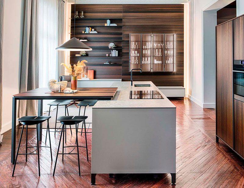 Cocinas: mobiliario y electrodomésticos de vanguardia en Casa Decor 2021