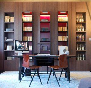 Zona de lectura por Adela Carré, en Casa Decor Madrid 2012