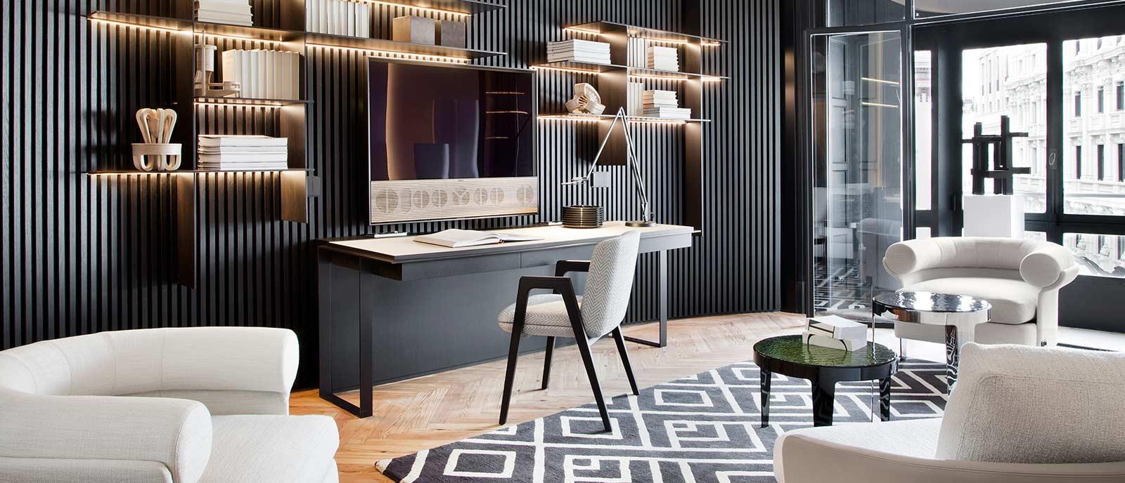 Espacio BTicino – Zona de trabajo en casa «Living Now»
