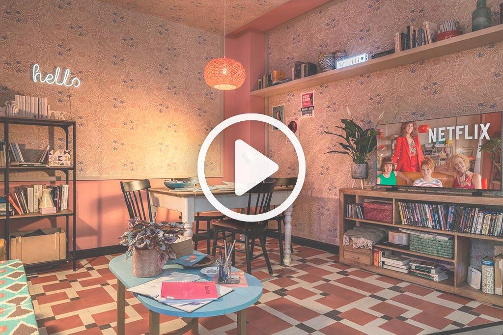 Video de Espacio Netflix – Apartamento «El Universo de Valeria»