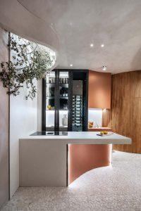 Cocina proyectada por Nothing Studio en Casa Decor 2021