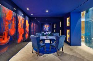 Pinturas Montó en el Espacio Estudio Muher de Casa Decor 2021.