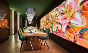 Restaurante Biocontrastes por Muher Estudio en Casa Decor 2021