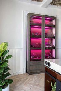 Huerto hidropónico de Delta Cocinas en Casa Decor 2021