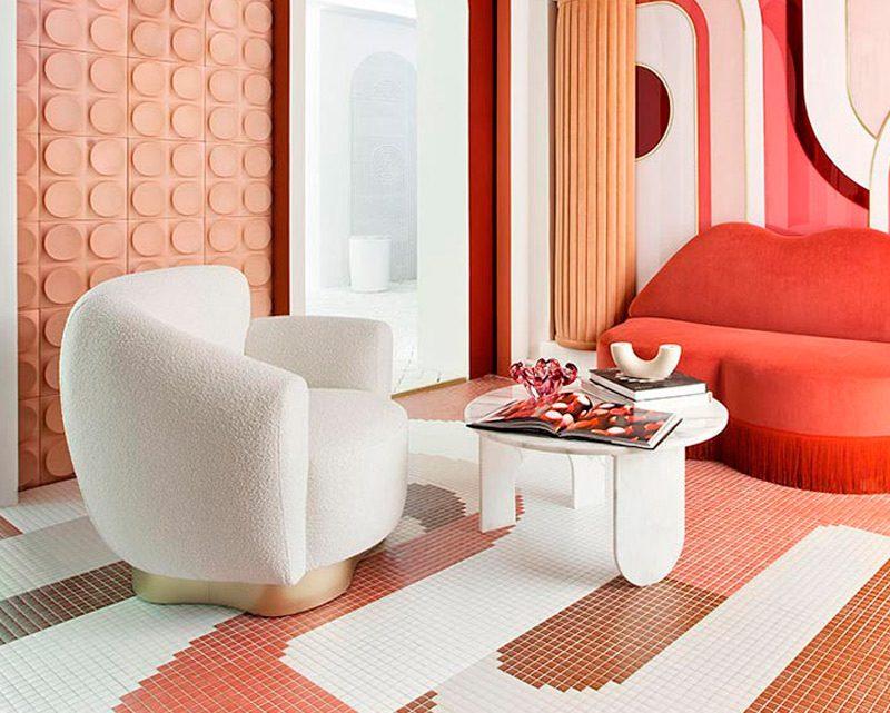 Lana bouclé: tendencia estrella en el tapizado de muebles y complementos textiles