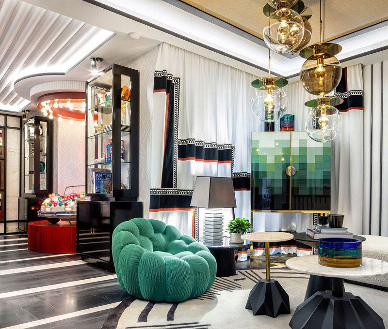 Techos decorativos, funcionales y sostenibles en Casa Decor 2021