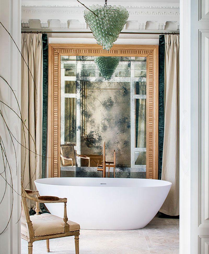 Espejos decorativos y funcionales en Casa Decor 2021